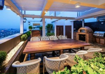 Penthouse The Vista apartment for sale with swimming pool with cool river view