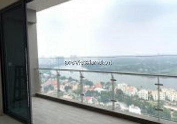 Apartment in Q2 Thao Dien for sale 2 bedrooms unfurnished