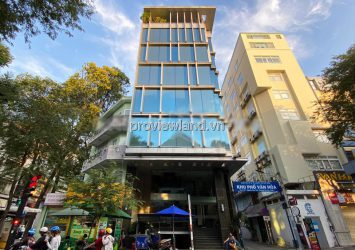 Serviced apartment building for sale in District 1 with 100m2 of land including 1 basement 7 floors