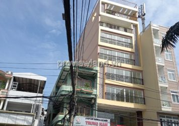 Hotel building for sale in Tan Binh, front of Bach Dang street, area 203sqm, 1 basement + 8 floors