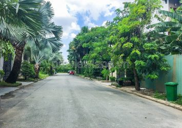 Selling plot of land with 2 fronts of Eden Thao Dien villa area, area 18x24m, 100% residential area