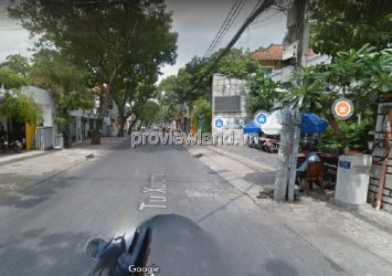 House for sale in District 3, front of Tu Xuong street, land area 379m2, pink book
