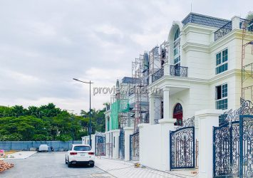 KingCrown Thao Dien villa for sale architecture 3 floors with area 12x25m