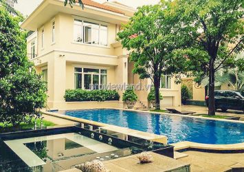 Quick sale Villa at Thao Dien with garden and pool 1 basement 3 floors 867m2