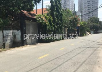 Land lot on 66 Thao Dien street with 322m2 area for sale