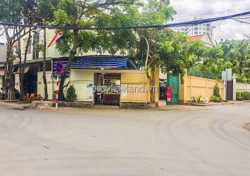 Corner villa for sale with 2 facades at Nguyen Dang Giai Thao Dien with area 406m2