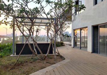 Selling apartment Pool Villa Diamond Island G floor Duplex form handover raw