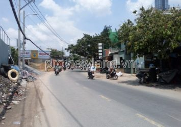 Land for sale in front of Ung Van Khiem Street Binh Thanh with a recognized area of 470m2