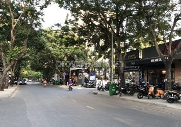 Thao Dien land lot for sale with an area of 9x31m in front of Xuan Thuy street