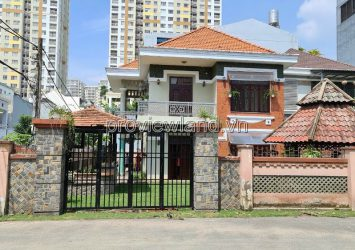 Thao Dien villa for sale, corner 2 of street 64, area 365m2, 2 floors