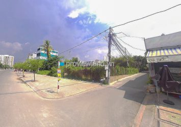 Land for sale in Man Thien alley Thu Duc in residential area with land area 435m2