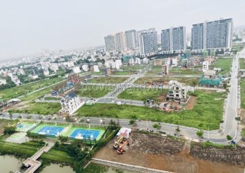 Sale of land with 2 frontage Saigon Mystery Villas Hung Thinh District 2 nice location