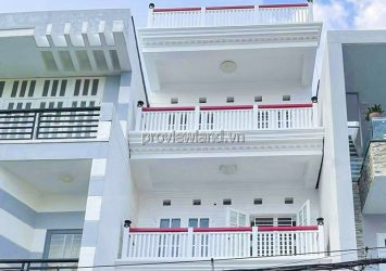 Townhouse for sale in front of Street 41 Tan Quy District 7 with 1 mezzanine 3 floors