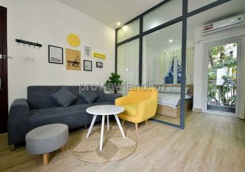 Townhouse in District 1 in front of Tran Khanh Du structure 1 basement 7 floors