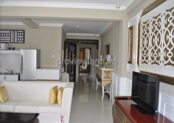 Selling serviced apartment building on Nguyen Van Huong street 1 basement 4 floors