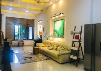 Villa for rent at Street 33 An Khanh including 3 floors 5 bedrooms area 454m2