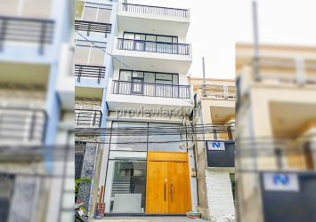 Townhouse for rent at Binh Thanh architecture 4 floors with area 53m2