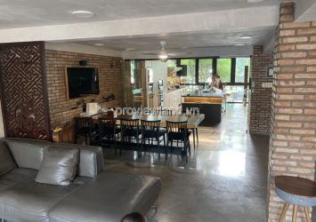 Fideco Thao Dien villa for sale land area 140m2 with 6 bedrooms and high-class furniture