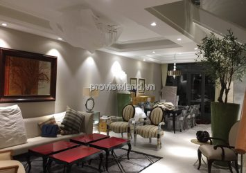 Lavila Nam Saigon townhouse for sale land area 105m2 with 4 bedrooms full furnished