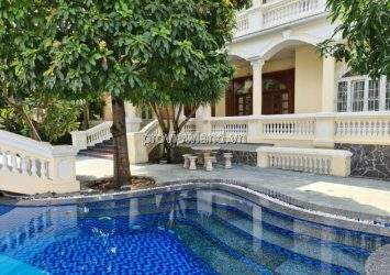 Thao Dien villa for sale, street number 16, area of 1155sqm, swimming pool, garden