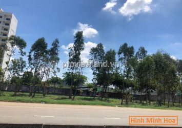 Land for sale in front of Mai Chi Tho Boulevard District 2 Area `7x16m, corner of 2 fronts, pink book