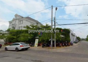 Land for sale corner 2 frontage street 66 and Nguyen Van Huong Thao Dien, 656m2 of land