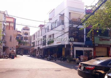 Selling a double house on the corner of Nguyen Gia Tri Street Binh Thanh with the structure of 1 ground 2 floors
