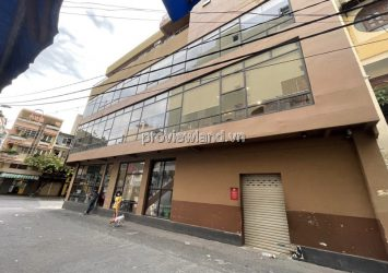 House for sale in front of District 3 corner unit land area 120m2 with 1 ground floor 3 floors