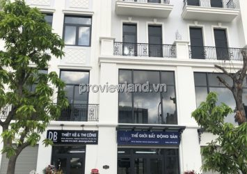 Shophouse for sale Vinhomes Grand Park land area 84m2 with 1 ground floor 4 floors and attic
