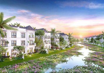 Vinhomes Grand Park villa for sale with lotus lake land area 300m2 & 3 floors