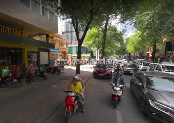 Land for sale in District 1 with an area of 620.7m2 on Le Thanh Ton street
