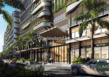 Apartment high-class 2 bedrooms in Masterise Lumiere Riverside project