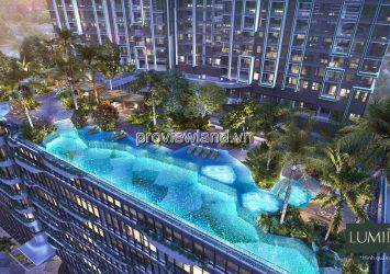 Masterise Lumiere Riverside apartment for sale with 2 bedrooms on the 13th floor