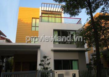 Villa Riviera An Phu for rent includes 1 ground floor 2 floors 4 bedrooms