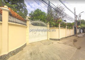 Selling Pool Villa in front of Street 6 Thao Dien 2 floors and area 713m2