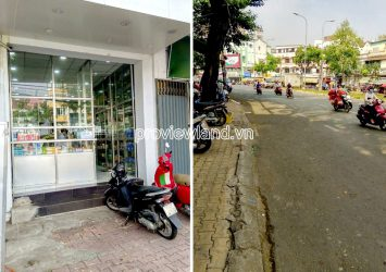Townhouse for sale in front of Hai Thuong Lan Ong District 5 1 mezzanine 3 floors 4x25m