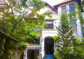 Garden Villa for sale front of Tong Huu Dinh Thao Dien with area 702m2