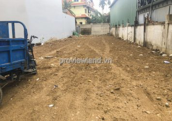 Selling 2 lots of land adjacent at Thao Dien with land area 258m2