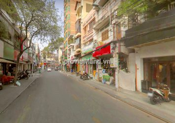 Selling 3 townhouses adjacent in front of Nguyen Huu Cau D1 with area 12x22m