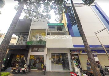 Townhouse for sale in front of Street 3T2 District 10 with 3 floors area 115m2
