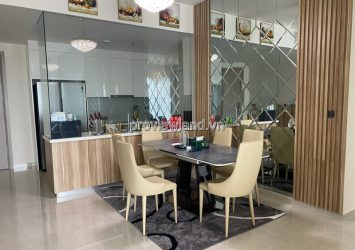 Apartment in Q2 Thao Dien high floor 3 bedrooms fully furnished for rent