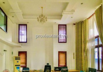 Pool Villa for rent at Nguyen U Di Thao Dien 1 basement 1 mezzanine 2 floors with 500m2
