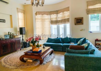 Thao Dien villa for rent land area 330m2 with 5 bedrooms pool and garden