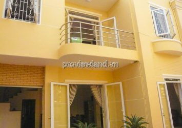 Townhouse for rent front of Street 2 Thao Dien architecture 2 floors with 200m2
