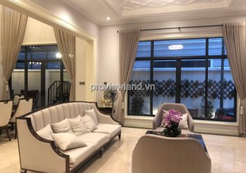 Victoria Village villa for sale in District 2 land area 300m2 with 3 floors fully furnished