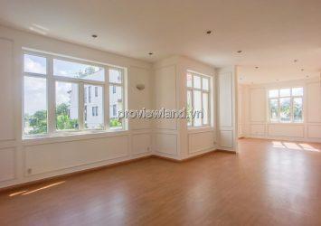 Nguyen Van Huong Thao Dien Villa for rent includes 3 floors area 525m2