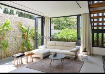 Villa in Compound Thao Dien for rent with 5 bedrooms with pool and private garden