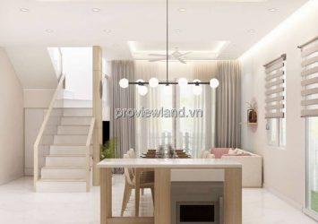 Valora Kikyo villa for rent land area 171m2 with 1 ground floor 1 floor 4 bedrooms