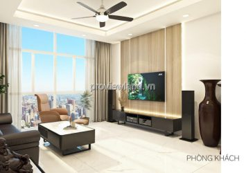 The Vista for sale 3 bedrooms apartment with nice furniture and open view