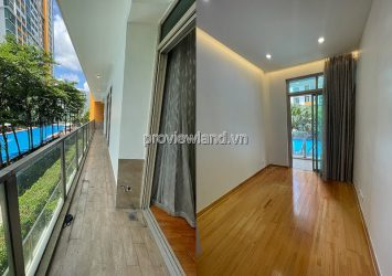 The Vista An Phu apartment for rent low floor 3 bedrooms with pool view